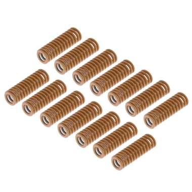 harga 14pcs/set 3D Printer Heated Bed Extruder Spring for Creality CR-10/S/Mini - Blibli.com