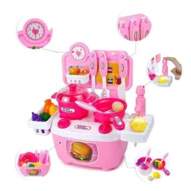 Jual Mainan Edukatif Edukasi Anak Kitchen Set Koper Masak Masakan Dapur Online Oktober 2020 Blibli Com