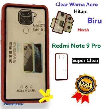 harga CASE XIAOMI REDMI NOTE 9 PRO AERO CLEAR CASING COVER SILIKON HANDPHONE - Merah Redmi Note 9 Pro Blibli.com