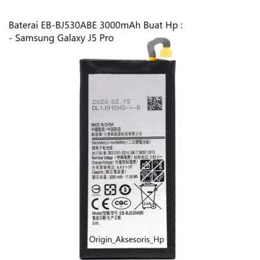 harga Original Baterai EB-BJ530ABE Buat Handphone Samsung Galaxy J5 Pro Blibli.com