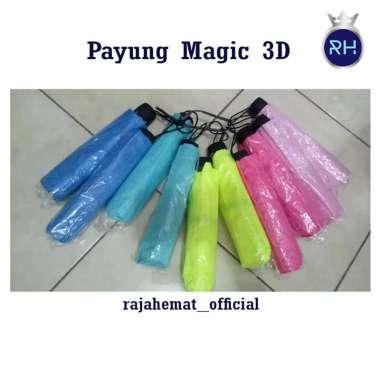 harga Payung Lipat Magic 3D Tosca Blibli.com