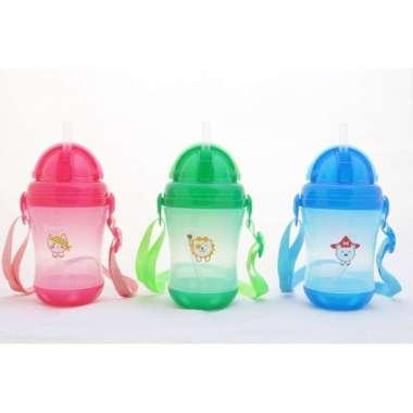 harga TERMURAH!! US BABY Sport Straw Bottle 9+ Months BPA FREE | Botol Dot Susu Minum Sedotan Anak Bayi Balita 9 Bulan Ke Atas [ORIGINAL PREMIUM QUALITY] Hijau Blibli.com