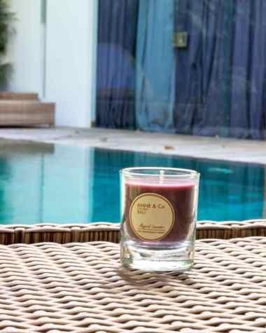 harga Anne&Co Bali //60 gr    Magical Lavender    Lilin Bali Aromatherapy candle burn time > 20 jam Blibli.com