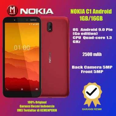 harga Nokia C1 1GB/16GB Garansi Resmi TAM Charcoal Blibli.com