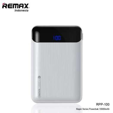 harga Remax Powerbank 10000mAH Rpp-100 Serpin Series ORIGINAL REMAX WHITE Blibli.com