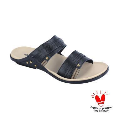 Catenzo KN 065 Kenitra Barrett Kulit Sandal Pria