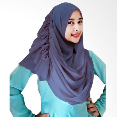 Milyarda Hijab Cassanova - Biru Dongker