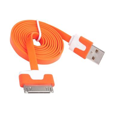 QCF Cable Data Colours for Apple iPhone 4G or 4S - Orange