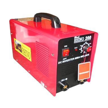 Rhino Teknologi Inverter Mesin Las - Merah [200 A]