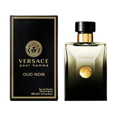 Versace Pour Homme Oud Noir EDP Parfum Pria [100 mL]
