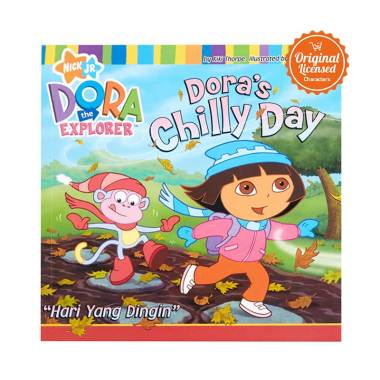 Dora the Explorer Dora's Chilly Day Komik Book