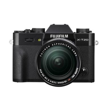 FUJIFILM X-T20 kit 18-55mm Black +  ... irui sling bag & NP-W126S