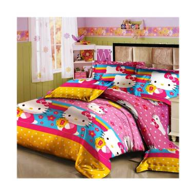 Monalisa T20 Motif Hello Kitty Set Sprei