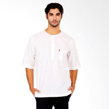WAYDEE Urban Farabi Short Sleeves Baju Koko Pria