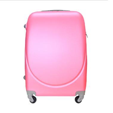 Gloria Bag Orentina Koper Kabin Travel Bag - Pink [20 Inch]