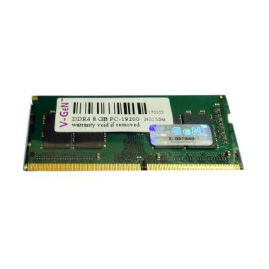 V-GEN SODimm DDR4 Memory RAM Laptop [8GB/ PC19200/ 2400Mhz]