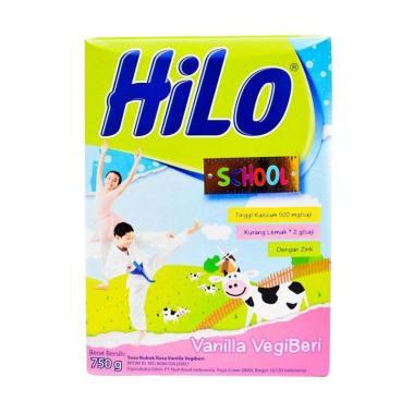 harga HiLo School Vanilla Vegiberi Susu Formula [750 g] Blibli.com