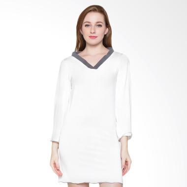 Sexy Sleep SS123 Nightgown Emma - White