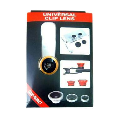 Universal 3in1 Clip Lens for Handphone or Tab