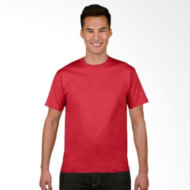 Gildan Original SoftStyle T-Shirt Pria - Red