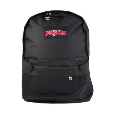 Juzz JURB035 Tas Ransel Backpack Polos - Hitam