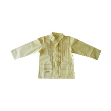 Rafifa Panjang Model D Baju Koko Anak - Kuning