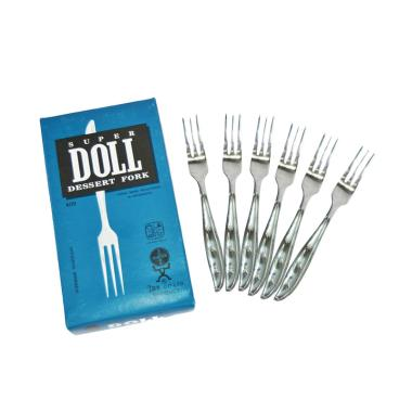 harga Super Doll Bursa Dapur Garpu Kue [6 pcs] Blibli.com