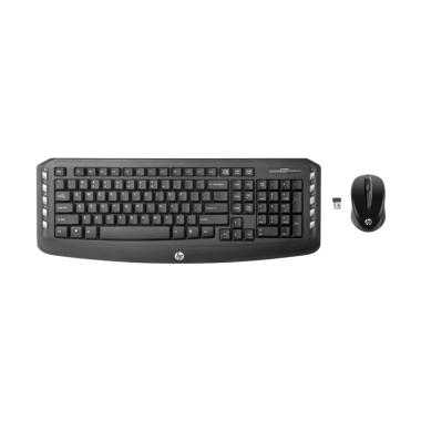 harga HP Wireless Classic Desktop Keyboard and Mouse Blibli.com