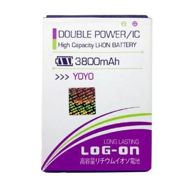 Log On Double Power Baterai for Oppo Neo 3 [3800 mAh]