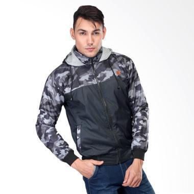 Sognoleather Jacket Pria - Abu Tua slc121