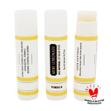 Vimala Mint Lemonade Natural Lip Balm