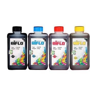 AIFLO Paket Tinta Printer for Canon – 4 Warna [250 mL]