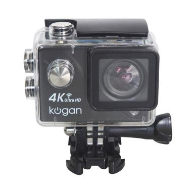 Kogan Action Camera - Hitam [WiFi/ 4K+ UltraHD NV/ 16 MP]