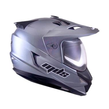 MDS Super Pro Solid Graphite Met Helm Full Face