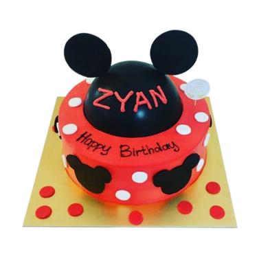 The Sweet Recipe Mickey Mouse Cake