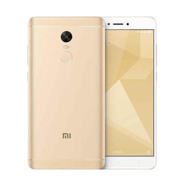 Xiaomi Redmi Note 4X Smartphone - Gold [32GB/3GB]