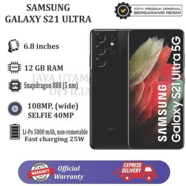 Samsung Galaxy S21 Ultra [ 12GB/256GB] BLACK Garansi Resmi