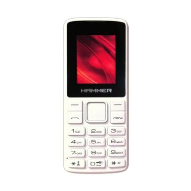 Advan Hammer R1D Handphone - White Black