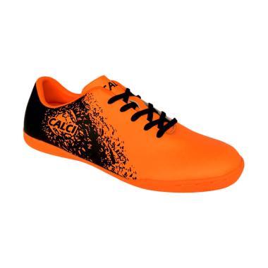 Calci Empire JR Sepatu Futsal Anak - Orange Black