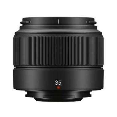 Fujifilm XC 35mm f2 Lensa Kamera - garansi Resmi FFID Black
