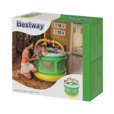 Bestway 52221 Inflatable Playpen Ar ... mpolin Anak Bayi [109 cm]
