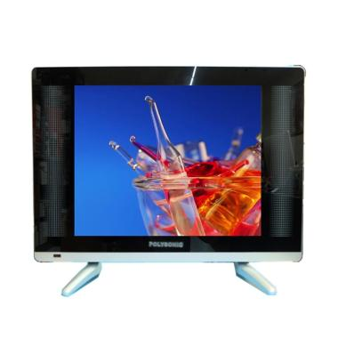 Polysonic PS 1777Y TV LED - Hitam [17 Inch]