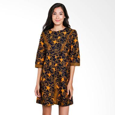 Batik Arjunaweda Women Sackdress Cu ... 9182097 Mini Dress - Biru