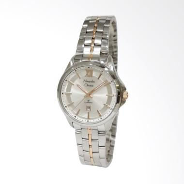 Alexandre Christie Classic Steel 85 ... Wanita - Silver Rose Gold