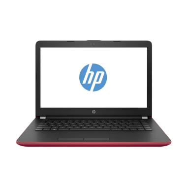 HP 14-BW012AU Notebook - Merah [AMD A6-9220/ 4 GB/ 500 GB/ DOS]