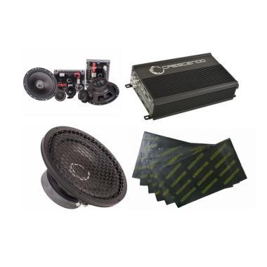 Paket Audio Mobil Crescendo 3 - Gema Audio [Pasang Di Tempat]