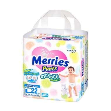 Merries Premium Pants Popok Bayi [L22]