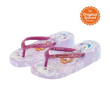 Disney Frozen Eva Wedges Sandal Anak Perempuan - Purple