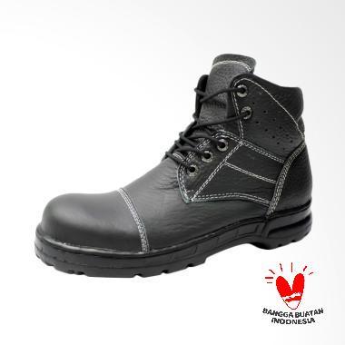 Chevasan Dr.faris Safety Footwear Sepatu Pria - Hitam