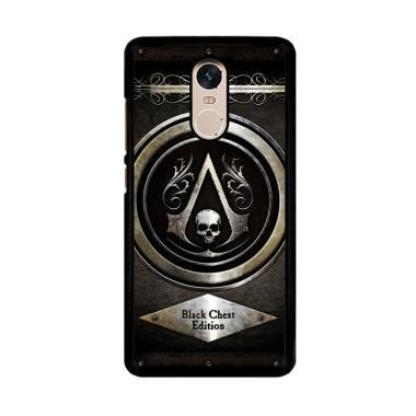 Flazzstore Assassins Creed Black Fl ... 4 or Xiaomi Redmi Note 4X